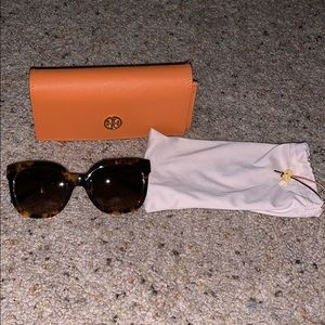 Tory Burch Tortoise Sunglasses